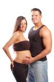 Un couple heureux Photos libres de droits