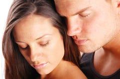 Un couple heureux photo libre de droits