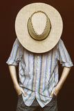 Un cowboy Fotografie Stock Libere da Diritti