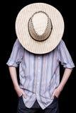 Un cowboy Fotografia Stock
