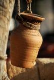 Un crisol Imagen de archivo libre de regalías