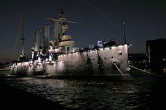 Un croiseur célèbre photographie stock libre de droits
