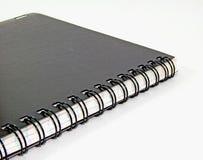 Un cuaderno fotografía de archivo