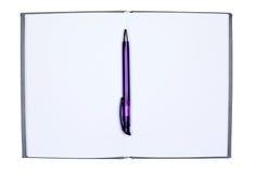 Un cuaderno Foto de archivo