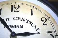 Un cuarto cara de reloj Imagen de archivo libre de regalías