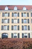 Un cuarto con una visión - apartamentos por el mar en Copenhague fotos de archivo