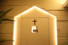 Un cuarto cristiano del rezo imagenes de archivo
