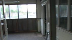 Un cuarto de un almacén almacen de video