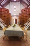 Sitio de degustación de vinos Fotografía de archivo libre de regalías