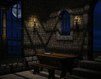 Un cuarto del castillo stock de ilustración