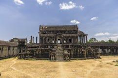 Un cuarto en el nivel superior de Angkor Wat Foto de archivo libre de regalías