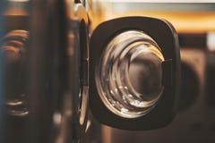 Un cuarto oscuro de un lavadero del  del publiÑ fotos de archivo libres de regalías