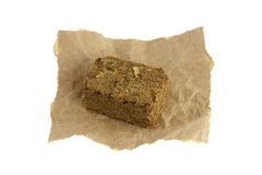 Un cubo del tè di erbe del cinese tradizionale (Medicina Fotografia Stock