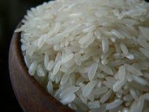 Un cuenco de arroz blanco Imágenes de archivo libres de regalías