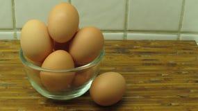 Un cuenco de huevo Imagen de archivo