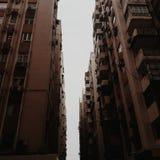 Un cuento de dos ciudades foto de archivo