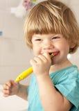 Un cuidado de los dientes Foto de archivo libre de regalías