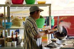 Un cuisinier de nouille de poulet Image libre de droits