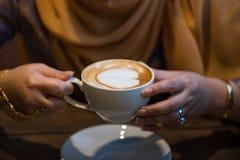 Un cuo de latte photo libre de droits