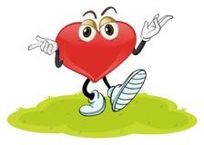 Un cuore Fotografie Stock