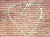 Un cuore di amore Fotografie Stock Libere da Diritti