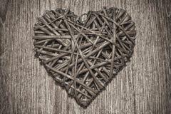 Un cuore di molti fili Fotografie Stock
