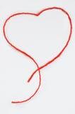 Un cuore rosso Immagini Stock Libere da Diritti