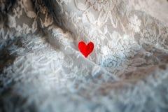 Un cuore rosso Immagine Stock Libera da Diritti