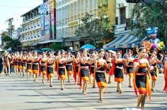 Un défilé danse Image stock