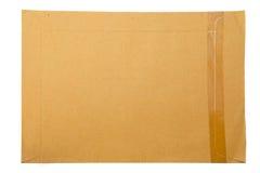 Un dépliant de papier brun Photographie stock
