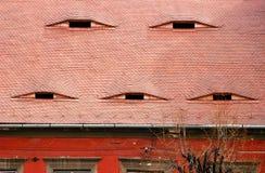 Un détail très vieux de maison, Transylvanie photo libre de droits