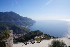 Un día agradable en Ravello Imagen de archivo libre de regalías
