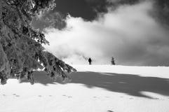 Un día de invierno Foto de archivo libre de regalías