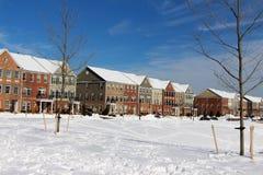 Un día de invierno perfecto Foto de archivo