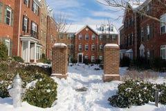 Un día de invierno perfecto Foto de archivo libre de regalías