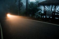 Un día de niebla Foto de archivo libre de regalías