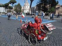 Un día ecológico en Roma imagen de archivo libre de regalías