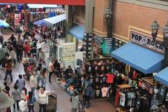 Un día en el callejón de Santee, Los Ángeles, California, los E.E.U.U. imágenes de archivo libres de regalías