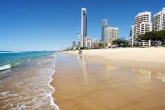 Un día en la playa imágenes de archivo libres de regalías