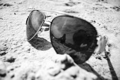 Un día en la playa Imagenes de archivo