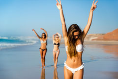 Un día en la playa Imagen de archivo