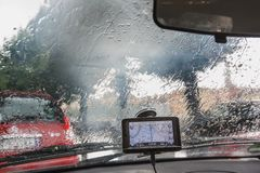 Un día lluvioso en Verona fotografía de archivo libre de regalías