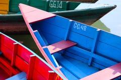 Un día pacífico en el lago Fotos de archivo libres de regalías