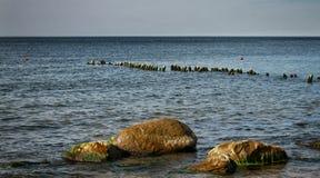Un día soleado en el mar Báltico imágenes de archivo libres de regalías