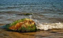 Un día soleado en el mar Báltico fotografía de archivo