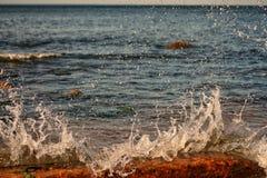 Un día soleado en el mar Báltico fotografía de archivo libre de regalías