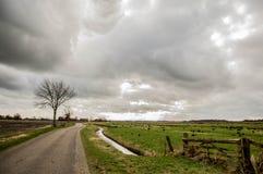 Un día tempestuoso Imagen de archivo libre de regalías