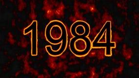 Un día trágico para todos los sikhs - 1984 en el fondo del fuego stock de ilustración
