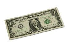 Un dólar Imagen de archivo libre de regalías