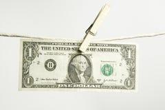Un dólar Fotos de archivo
